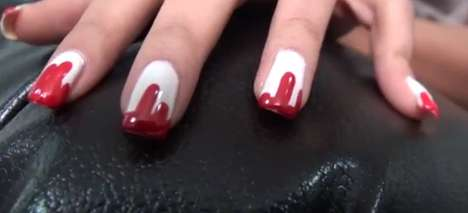 Bleeding DIY Manicures