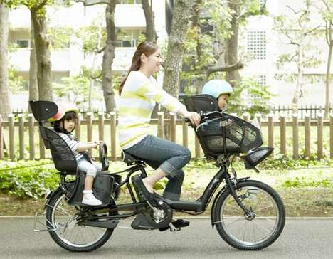 Hi-Tech Mom-Geared Bikes