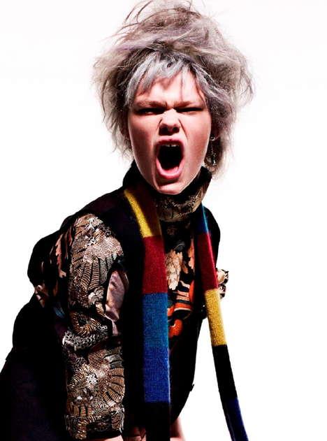 Aggressive Fashion Editorials