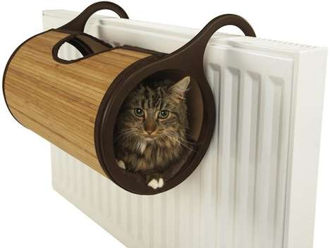 Heater-Attached Pet Havens