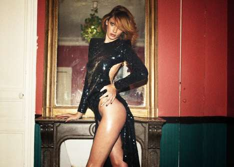 Grittily Seductive Editorials - 'The Stars Keep Calling My Name' Stars Model Milagros Schmoll