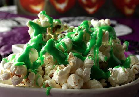 Film-Inspired Spooky Treats - The Ectoplasm Slimed Popcorn Goes Perfectly with a Scary Movie