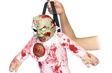 Undead Infant Bags - The Zombie Baby Backpack Will Enhance Your Gory Zombie Halloween Costume