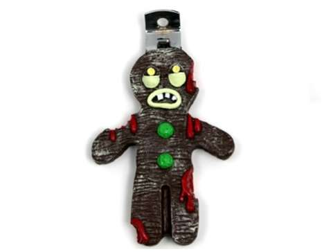 Festively Spooky Kitchen Utensils - Gingerbread Zombie Bottle Opener is Fun for Upcoming Holidays