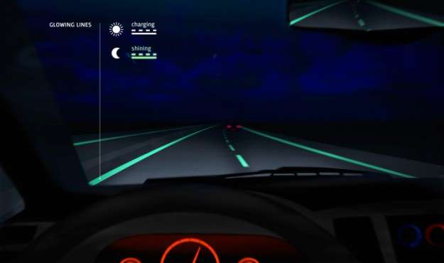 Glow-In-The-Dark Roads