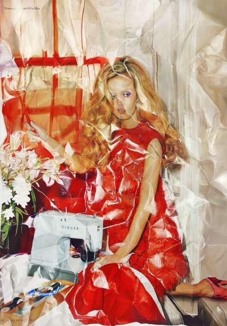 Fashionable Photorealistic Paintings
