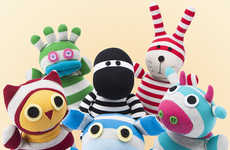 Microwaveable Plush Dolls - Heated Sock Animals Make the Warmest Christmas Stocking Stuffers