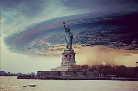 Instagram Storm Blogs - The Hurricane Sandy Instacane Website Posts As-It-Happens Photos