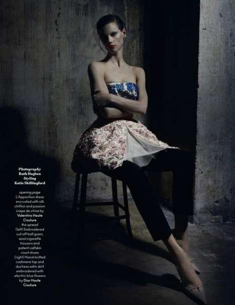 Disheveled Couture Photoshoots