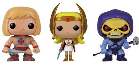 Adorable Vintage Hero Figurines - The Funko MOTU Dolls are Released