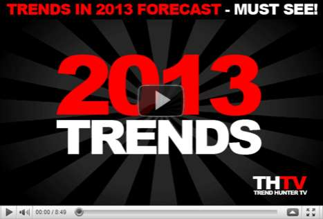 Top 20 Trends in 2013 Forecast - 2013 Trend Report Highlights by Trend Hunter