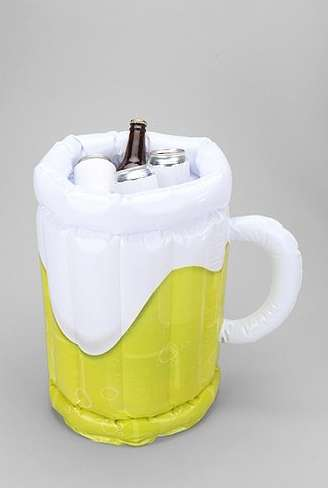 Blow-Up Booze Coolers - The Inflatable Beer Bucket is the Perfect Item for Any Party