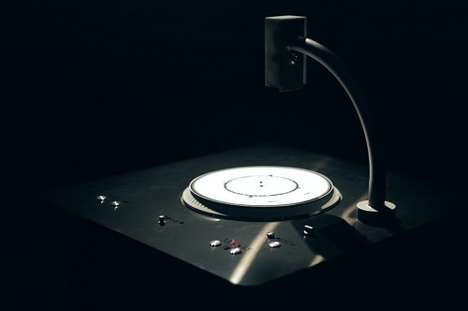 Graphic Note Record Players