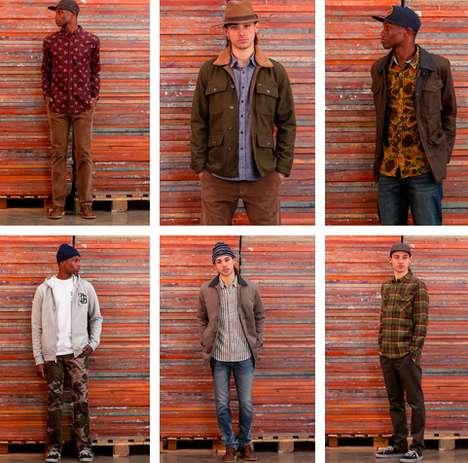 Festive Lumber-Bound Lookbooks