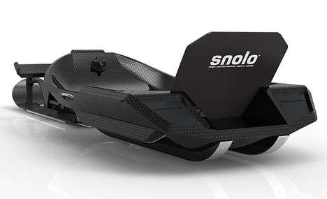 Carbon Fiber Snowmobiles