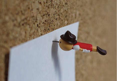 Pinocchio Thumb Tacks
