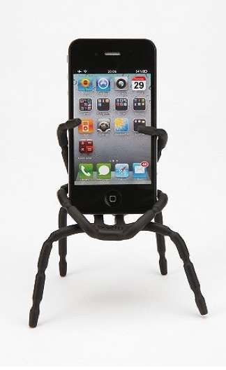 Spider-Like Smartphone Holders - The Breffo Spider Podium Phone Stand Has a Life of its Own