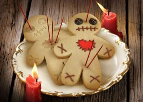 Voodoo Doll Desserts - The Cursed Cookies Cookie Cutter is Perfect for Any Seance