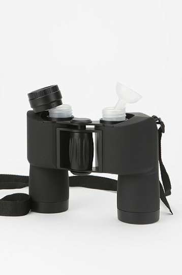 Bird-Watching Booze Dispensers - The Binocular Flask is Secretive and Fun