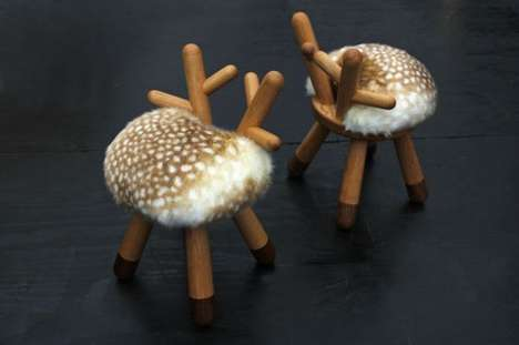 Fictional Fawn-Inspired Seat