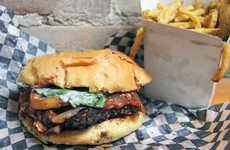 Mafioso-Inspired Burgers - Gangster Burger Sells Edgy Sandwiches Inspired by Notorious Gangsters