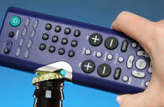 Double Duty Remote Controls - The Bottle Opener Remote is a Hybrid Drinking Accessory