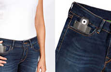 Digital Media Jeans - The Replay Social Denim Keeps People Connected Via Clothing