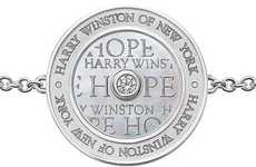 Charitable Diamond Bracelets - Profits From the Harry Winston Hope Bracelet Goes to Charities