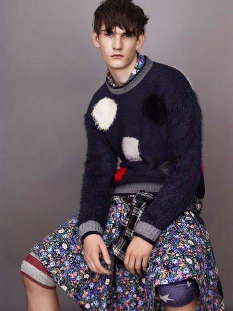 Grungy Knitwear Catalogs