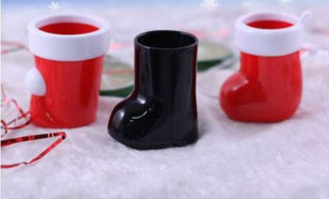 Santa Boots Booze Cups