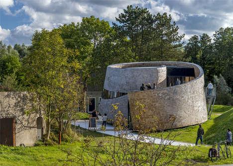 Spiraling Shingle Architecture