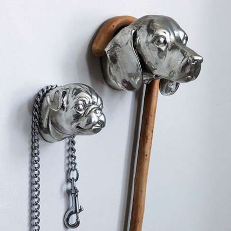 The Dog Head Hooks Take the Stress of Curved Items Off Your Hands
