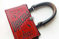 Novel Handbags - The Book Purses by Karen H. are Made for Literary Lovers