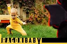 Fight Film Baby Parodies - The 'Dragon Baby' Video Adds Creativity and Hilarity to Kill Bill Parody