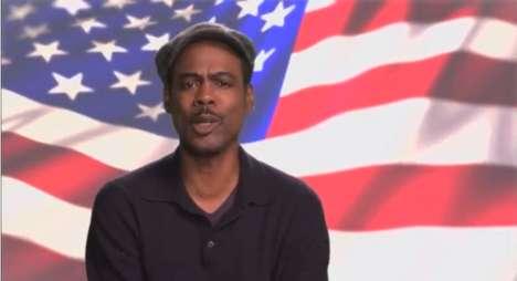 Bi-Racial Celeb Campaigning