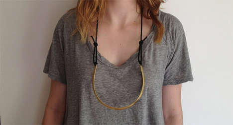 Minimalist Industrial Necklaces