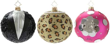 Charitable Celebrity Tree Decorations