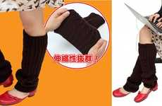 USB Leg Warmers - Stay Toasty While Surfing the Net with These Creatively Designed Stockings