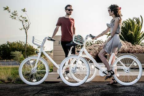 Minimalist Sharing Bicycles