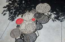 Woven Outdoor Seating
