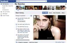 Timeline Sourced Dating Tools - The Yoke Application Pairs Couples Via Facebook Information