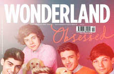 Puppy Love Tween Covers - The One Direction Wonderland Magazine Editorial Pleases Fans