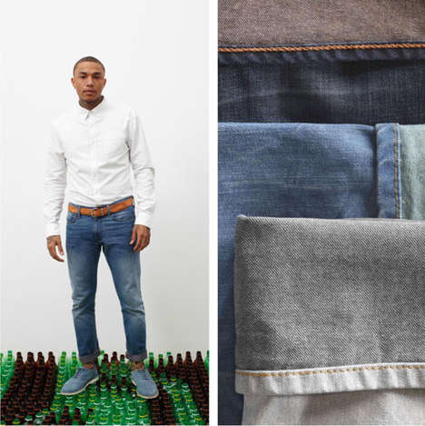 Recycled Plastic-Made Denim
