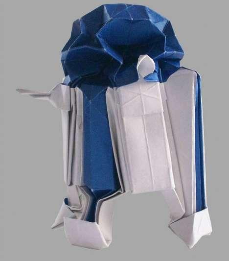 Sci-Fi Papercraft Spaceships