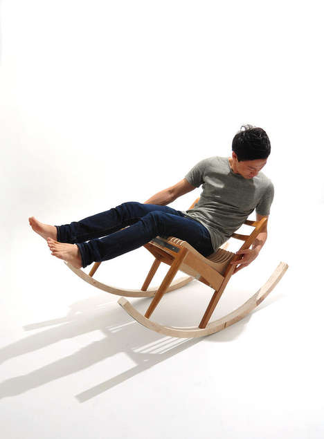 Change-Stealing Seats - The Artful Dodger Rocking Chair is a Self-Financing Piece of Furniture