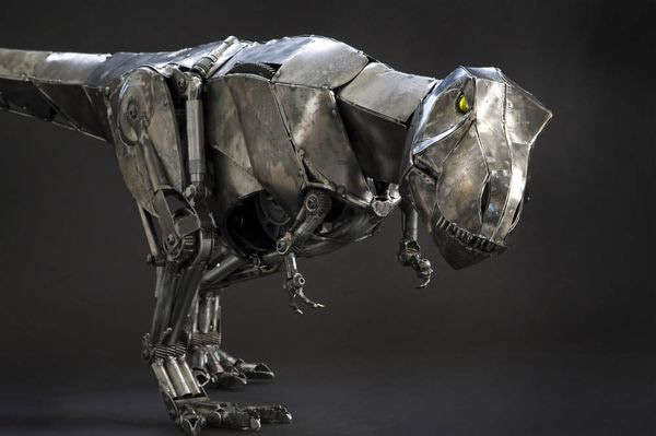 65 Scrap Metal Sculptures