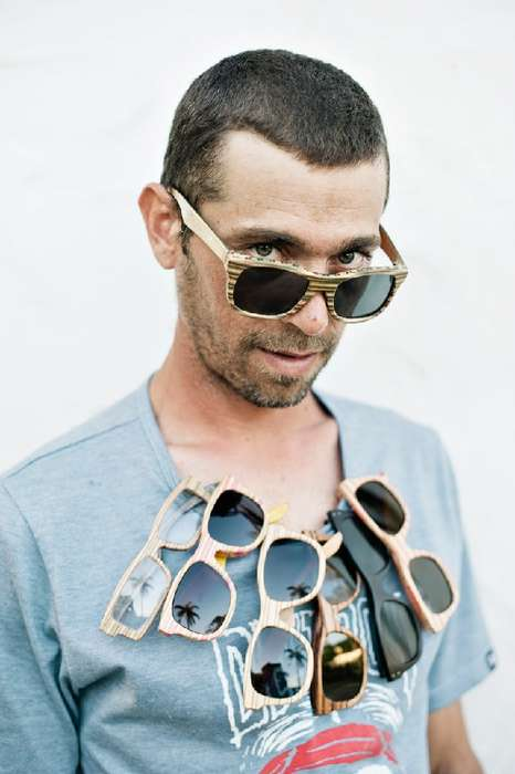 Recycled Skateboard Sunglasses - Sk8shades Breathe New Life into Old Boards