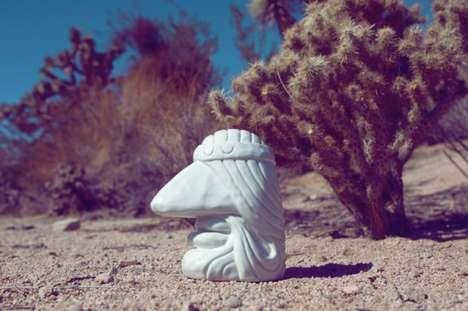 Pensive Ceramic Sculptures