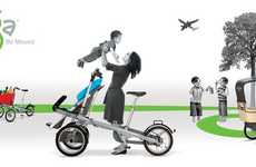 Bicycle-Stroller Hybrids - The TAGA Bike is Made for Healthy Moms on the Go