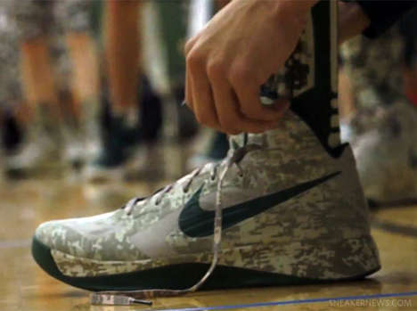 All-Camouflage Uniform Kicks